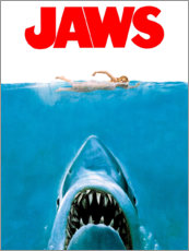 Canvastavla  Jaws (Hajen) - Entertainment Collection