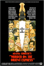 Canvastavla  Murder on the Orient Express - Entertainment Collection