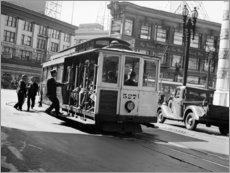 Canvastavla  San Francisco in the 30s