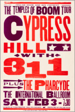Premiumposter  Cypress Hill, With 311, Concert 1996 - Entertainment Collection