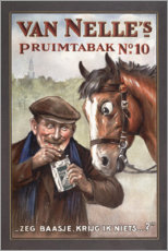 Premiumposter  Van Nelles's pruimtabak (nederländska) - Advertising Collection