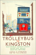 Premiumposter  Bus to Kingston - Gregory Brown