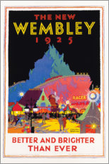 Premiumposter  The new Wembley 1925 (English) - Gregory Brown