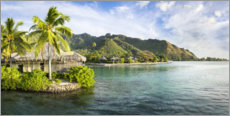 Poster  Moorea Island, French Polynesia - Jan Christopher Becke