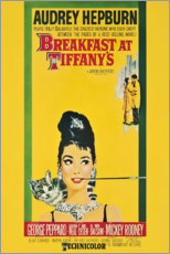 Canvastavla  Breakfast at Tiffany's - Entertainment Collection