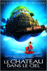 Premiumposter The castle in heaven (french)