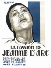 Poster  The Passion of Joan of Arc - Entertainment Collection