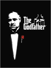 Aluminiumtavla  The Godfather - Entertainment Collection