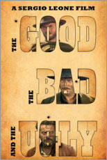Premiumposter The good, the bad and the ugly