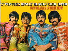 Canvastavla  Sgt. Pepper's Lonely Hearts Club Band - Entertainment Collection