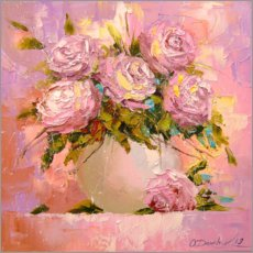 Galleritryck  Bouquet of roses - Olha Darchuk