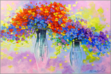 Poster  Symphony of flowers - Olha Darchuk