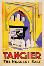 Premiumposter  Tangier, the nearest east - Travel Collection