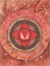 Premiumposter  Root chakra - Maria Forrester