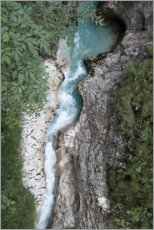 Akrylglastavla  Wild water CANYON in the Alps, Austria - Studio Nahili