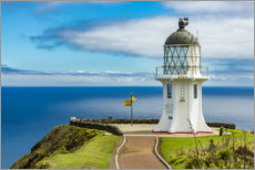 Premiumposter Meeting point of two oceans, Cape Reinga