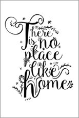 Premium poster  There is no place like home - Dani Wijeyesinghe
