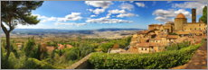 Galleritryck  Volterra is a picturesque town in Tuscany - fotoping