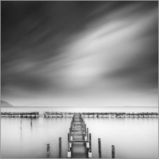 Akrylglastavla  Near the sea - George Digalakis