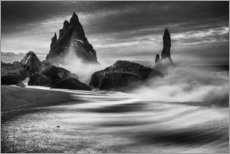 Canvastavla  Coast of Iceland - Philip Eaglesfield