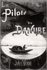 Canvastavla  The pilot of the Danube (french) - Georges Roux
