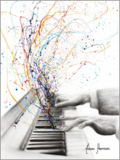 Premiumposter  The Keyboard Solo - Ashvin Harrison