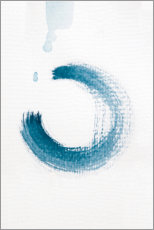 Galleritryck  Blue circle - Studio Nahili