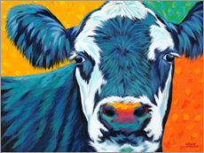 Premiumposter Colorful Country Cows I