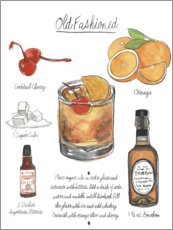Premiumposter Classic Cocktail - Old Fashioned
