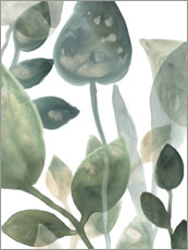Premiumposter Water Leaves I