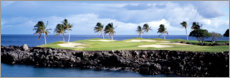 Premiumposter  Golf course in Hawaii
