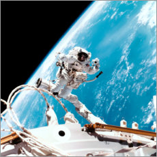 Premiumposter  ISS space walk