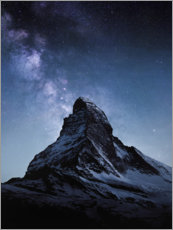 Canvastavla  Matterhorn - Thomas Beauquesne