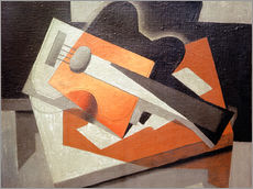 Galleritryck  The guitar - Juan Gris