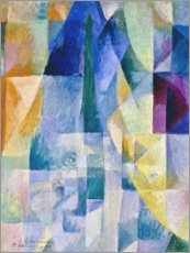 Akrylglastavla  Simultaneous Windows - Robert Delaunay