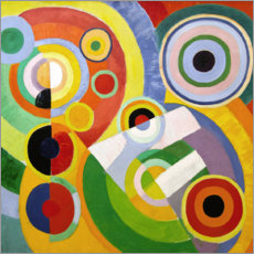 Canvastavla  The Joy of Life - Robert Delaunay