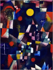 Premiumposter  Full moon - Paul Klee