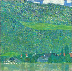 Premiumposter  Litzlberg on the Attersee - Gustav Klimt