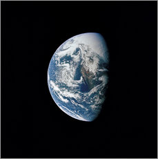 Galleritryck  View of the Earth from the spacecraft Apollo 13 - Stocktrek Images