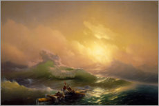 Canvastavla  The ninth wave - Ivan Konstantinovich Aivazovsky