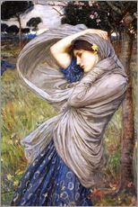 Galleritryck  Boreas - John William Waterhouse