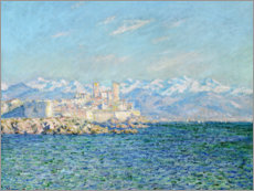 Galleritryck  Fort in Antibes - Claude Monet