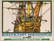 Canvastavla  H.M.S. Victory, Portsmouth - Kenneth Shoesmith