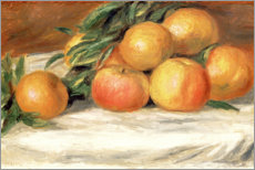 Premiumposter Still Life with Apples and Oranges