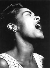 Galleritryck  Billie Holiday