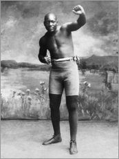 Galleritryck  Jack Johnson
