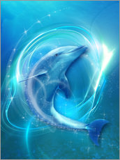 Galleritryck  Dolphin Energy - Dolphins DreamDesign