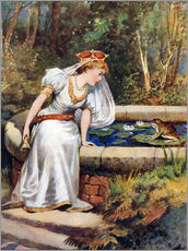 Galleritryck  The Frog Prince - William Henry Margetson