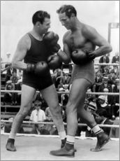 Galleritryck  Jack Dempsey and Max Baer