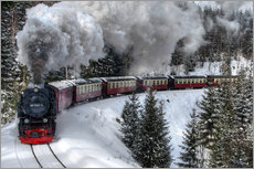 Galleritryck  Brocken Railway - Steffen Gierok